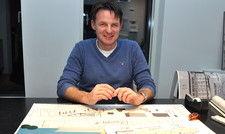 Kreativer Kopf: Thomas Ladehoff in seiner Architekturwerkstatt Ladehoff in Hardebek