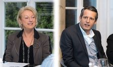 Klare Statements: Claudia Johannsen und Markus Doleschal.