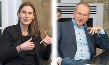 Klare Worte: Corinna Mühlhausen und Michael Altewischer.
