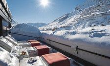 Bilderbuch-Panorama: Das erleben Gäste des 5-Sterne-Hauses Thurnher's Alpenhof am Arlberg.