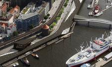 Neubau: Am Niederhafen in Hamburg soll das Alex Überseebrücke entstehen