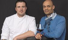 Die beiden Gastgeber: Christopher Kümper (links) und David Monnier.