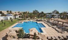 Seit April geöffnet: Die Außenanlage des Steigenberger Marhaba Thalasso mit Pool.