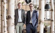 Eröffnung in Bern: Die Hans-im-Glück-Geschäftsführer Jens Hallbauer (links) und Johannes Bühler