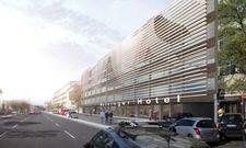 So soll's aussehen: Für das neue Meininger Hotel in Lissabon wird ein Bürohaus umgebaut