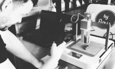 Steht bereit: Der 3D-Drucker, mit dem Jan Smink in seinem neuen Restaurant Menüs zubereiten will