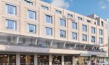 Umbau geplant: Aus einem Bürogebäude wird das NH Hannover