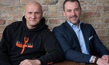 Eröffnen zusammen das Savu: Spitzenkoch Sauli Kemppainen und Gastgeber Vedad Hadziabdic
