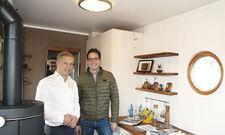 Vorreiter: Hotelchef Daniel Reuner (links) und Wohnwagon-Chef Christoph Raz.