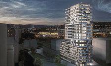 Eines der modernsten Projekte der Region: Jaz in the City im Europaviertel.