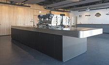 Viel Platz und Profimaschinen: Das neue Dallmayr-Schulungszentrum bei Azul in Bremen
