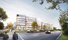 So soll es aussehen: Das geplante Niu Hub in Düsseldorf