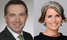 Neu in der Geschäftsführung: Raphael Rauer und Christiane Uhl