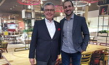 Positiv gestimmt: Joachim Marusczyk (links) und Marcelo Marinho