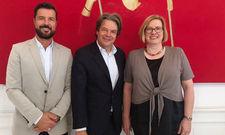 Aufsichtsrat: Christian Drewes, Michael Käfer (Mitte), Anke Heesel