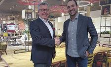 Wollen den Ausbau der Allianz: Joachim Marusczyk, Geschäftsführer Intercityhotel GmbH (links), und Marcelo Marinho, COO von ICH, Mutterfirma der brasilianischen Intercity-Hotels.