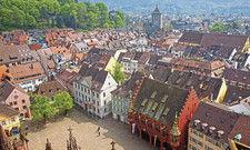 Malerische Altstadt: Freiburg im Breisgau ist eine lebendige Universitätsstadt – mit stark wachsenden Hotelkapazitäten.