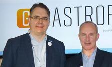 Freuen sich über die neue Partnerschaft: Etron-Geschäftsführer Markus Zoglauer (l.) und Kay Taubert, Director Indirect Sales bei Gastrofix