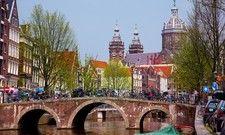 Wollen weniger Touristen: Die Stadtregierung von Amsterdam plant unter anderem Hotelzimmer zu reduzieren.