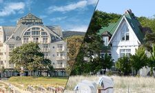 Gehören jetzt zusammen: Das Hotel am Meer und die Villa Nixe in Binz auf Rügen