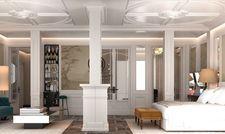 Elegant durch klare Linien: So werden die Suiten des Bless Hotel Madrid aussehen