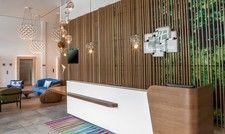 Offenes Konzept: Die Lobby im Holiday Inn München-Leuchtenbergring