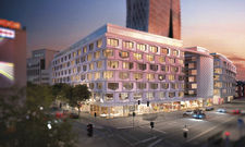 Flare of Frankfurt: Hier soll die Marriott-Marke Residence Inn einziehen.