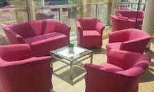 Nach der Renovierung: Die neue Lobby des Achat Plaza Kulmbach