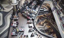 Foodcourt in Singapur: Ohne Gastronomie sähen Shoppingcenter alt aus