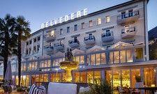Frisch renoviert: Das Belvedere Locarno in der Schweiz