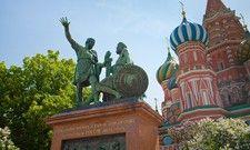 Bei Reisenden immer beliebter: 2017 verzeichnete die russische Hauptstadt Moskau 21,5 Mio. Besucher