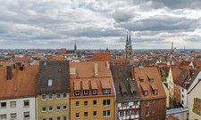 Blick über die Stadt: In Nürnberg haben in den vergangenen Jahren bereits viele neue Hotels aufgemacht, weitere Neueröffnungen stehen an.