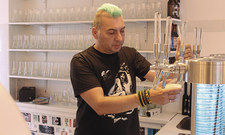 Péter Szücs: Der Ungar hat auch in Budapest ein Beer Labor betrieben.