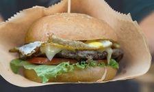 Burger: Ein Renner auch in der Kantine
