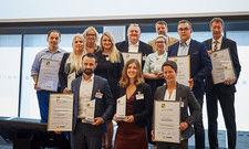 Glückliche Gewinner: Die Preisträger Marketing Award der Gemeinschaftsgastronomie 2018.