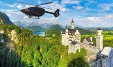 Flug zu den Königsschlössern: Damit wirbt derzeit das Rocco Forte The Charles Hotel