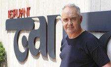 """Ferran Adrià beim Amazon-Video-Event vor dem Münchner Restaurant Tantris: """"Ein mythischer Ort – denn von hier ging der Wandel der deutschen Gastronomie aus."""""""