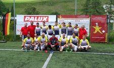 Siegreiche Truppe: Die deutschen Fußballköche und -gastronomen