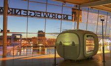 Pop-up-Zimmer mit Aussicht: Ein Schlafwürfel im Hafen von Kiel