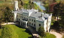 Im Stil eines englischen Herrenhauses: Das neue Romantik-Mitglied Schloss Reichenow in Brandenburg.