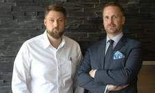 Neues Olivo-Team: Küchenchef Anton Gschwendtner (links) und Maître Philipp Berg.