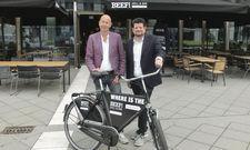 Zufrieden mit der Premiere in Frankfurt: Marché-Chef Oliver Altherr (links) und Beef-Chefredakteur Jan Spielhagen