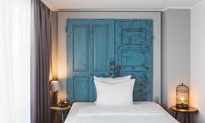 Berliner Flair: Eines der neu designten Zimmer im Hotel Berlin, Berlin