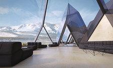 Eins mit der Natur: Das Tetrahotel soll sich in die Umgebung einfügen.