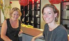 Gastro-Duo: Bettina von Massenbach (links) und Catharina Michalke
