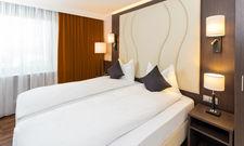 Frisch renoviert: Die Zimmer im Best Western Plaza Hotel Grevenbroich