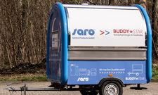 Erschwinglicher Foodtruck: Saro bietet einen Imbissanhänger für den kleinen Geldbeutel