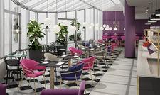 So soll's aussehen: Die Lobby im Fourside Saarbrücken nach Modernisierung
