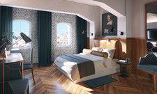 Gediegen: Zimmer im neuen Radisson Hotel & Suites Danzig