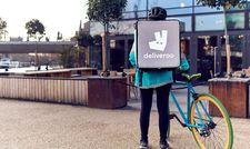 Gehören in vielen Städten bald nicht mehr zum Alltag: Die Essenskuriere von Deliveroo